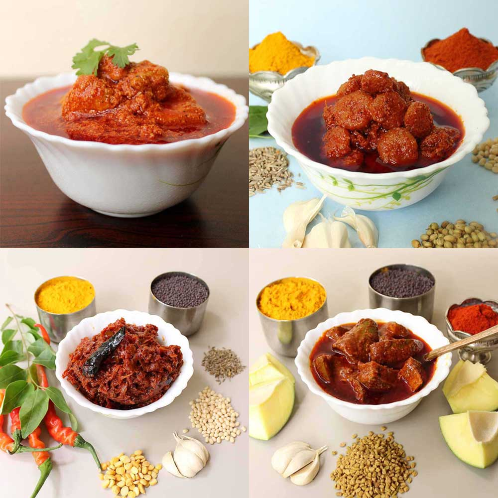 Andhra Home Made Veg and Non Veg pickles online